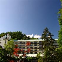 蓼科グランドホテル滝の湯 全景