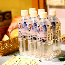 ぶなの森から生まれた野沢温泉の天然水「雪山清水」:売店【ひと呼吸 -hitococue- 】にて