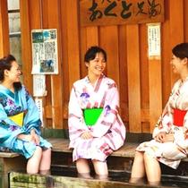 おしゃれ浴衣の一例です (*^o^*)