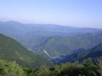 玉置山から熊野方面
