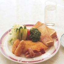 【洋風朝食一例】