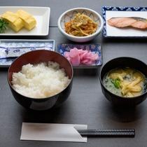 【朝食(和食一例)】和食・洋食お好きな方をお選びいただけます。