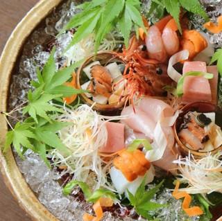 【ベーシック】漁師町・間人で堪能する海の京料理(撫子)