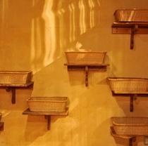 大浴場・昭恋の湯:脱衣所かご