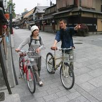 【レンタサイクル】…心地よい季節レンタサイクルで京都を巡ろう♪