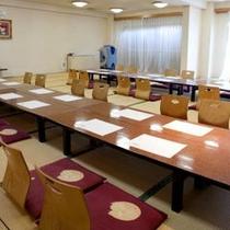 グループなど団体のお客様には宴会場をご用意ができます。