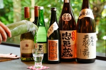 お料理にあうお酒も各種とりそろえております。