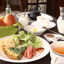 ワンプレートメニューの朝食♪(一例です)