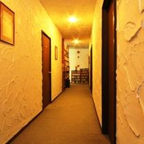 館内の様子 廊下