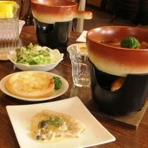 特製ビーフシチューがメインのご夕食 (内容は一例です。)