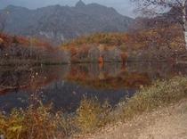 秋色の戸隠連峰