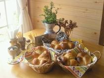 人気の手作りもちもちパン