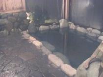 宿自慢の展望岩風呂