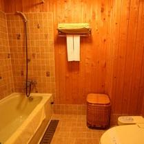 ワイドツイン ヒノキが香るバスルーム