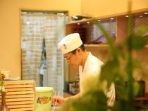 ホテル1階 和食処「はや斗」