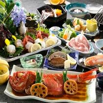 【夕食】贅沢会席プラン