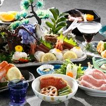 【夕食】お刺身プラン