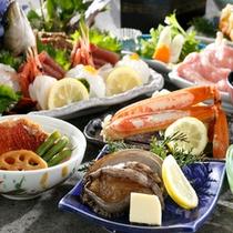 【夕食】伊勢エビ&アワビプラン