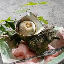 【夕食】サザエの壺焼 別注可
