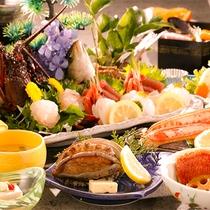 【夕食】豪華2大食材プラン 季節の一例