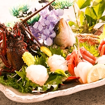 【夕食】季節のお造り盛り(別注対応も可)