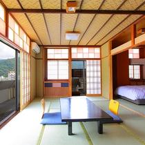 【客室】露天付和ベッド客室