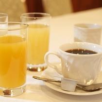 朝食ドリンク一例