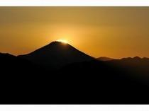 高尾山からのダイヤモンド富士【冬】