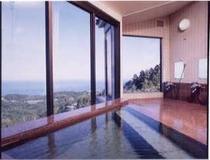 展望風呂「陽光の湯」(内湯)