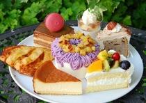 Cafe'de十番館オリジナルケーキ