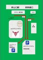 駐車場詳細案内図