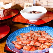 あけびの実朝食19