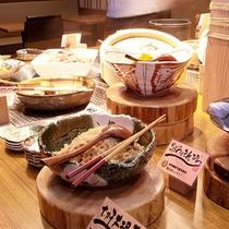 あけびの実朝食F