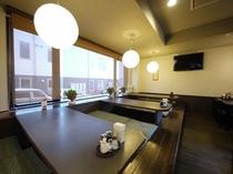 夕食レストラン『花茶屋』 営業時間:18時〜21時半ラストオーダー