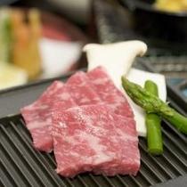 【料理】飛騨牛付き月替わり会席