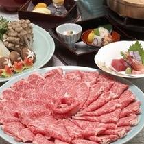 【料理】お部屋で、みんなでにぎやかに〜飛騨牛すき焼き〜