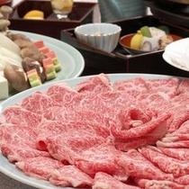 【料理】お部屋で、みんなで、ワイワイと〜飛騨牛しゃぶしゃぶ〜