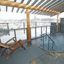 【風呂】りらっくす満天〜雪景色を見下ろして〜