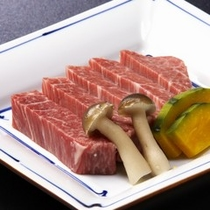 ■旬の飛騨野菜と飛騨牛会席〜秋〜■ヒレ肉