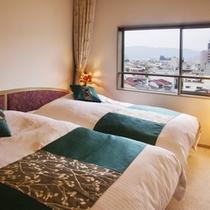 ■最上階貴賓室-華やぎの間-■寝室