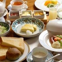 【料理】洋朝食〜旅館でも体に優しい本格洋食朝食〜