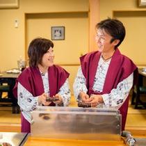 【鰹タタキ作り体験】