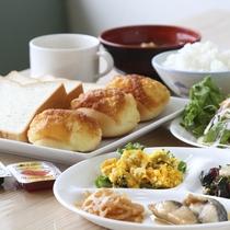 朝食イメージ ※メニューは日毎に異なります