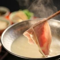 ■国産豚湯葉しゃぶ