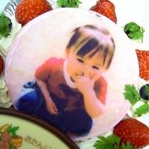想い出の写真をケーキにプリント!絶対に喜ばれるオリジナル写真入りケーキもおすすめです♪
