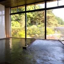 【大浴場】雄大な景色とお湯の柔らかさをご堪能下さい
