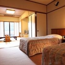 【1F和洋室/喫煙可】堀ごたつや濡れ縁のテラスが心地よいおこもり型のお部屋
