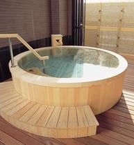 貸切風呂(桶)