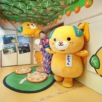 愛媛のゆるキャラ みきゃんルーム 2015年9月オープン