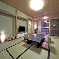 ★ぎふモダン和室・川側禁煙(10畳+広縁4畳相当・45平米)